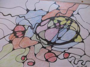 neurographische Zeichnung